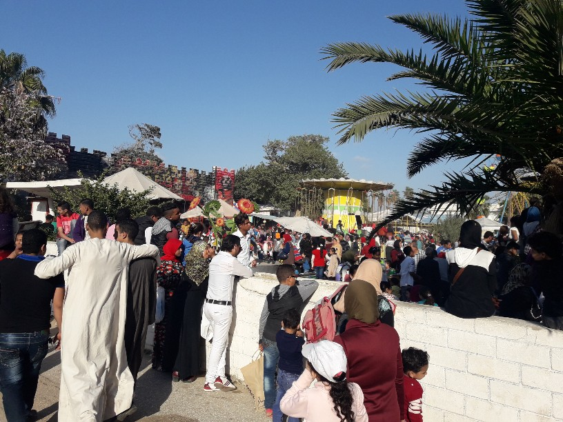 احتفالات أعياد الربيع شم النسيم بالإسكندرية (10)