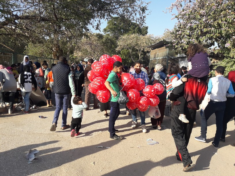احتفالات أعياد الربيع شم النسيم بالإسكندرية (11)