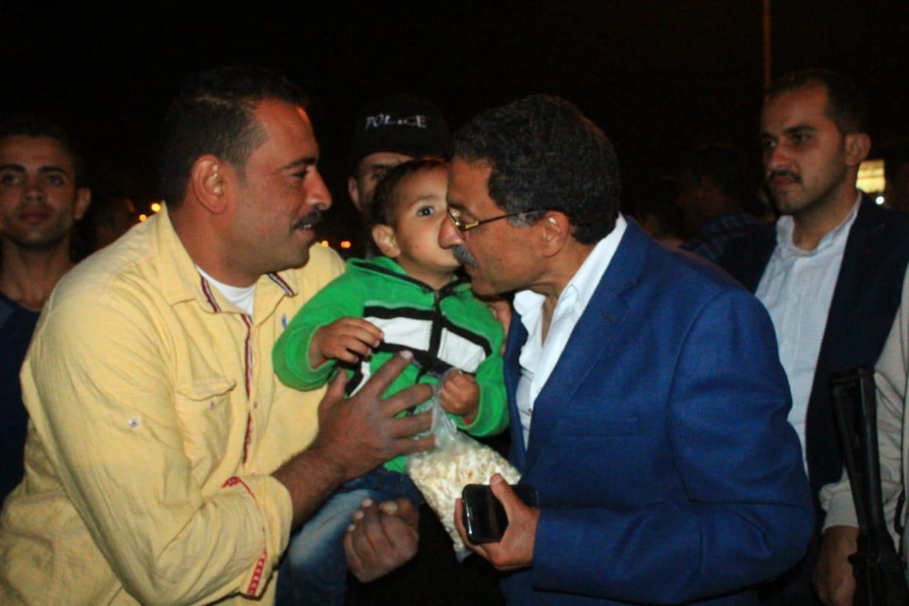 جولة مدير امن الاسماعيلية على طريق البلاجات (6)