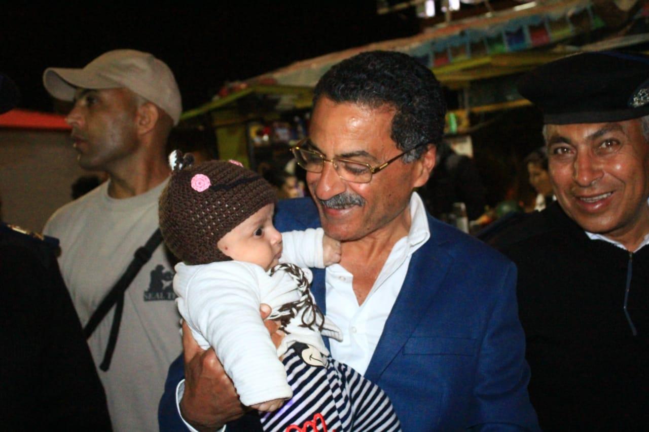 جولة مدير امن الاسماعيلية على طريق البلاجات (14)
