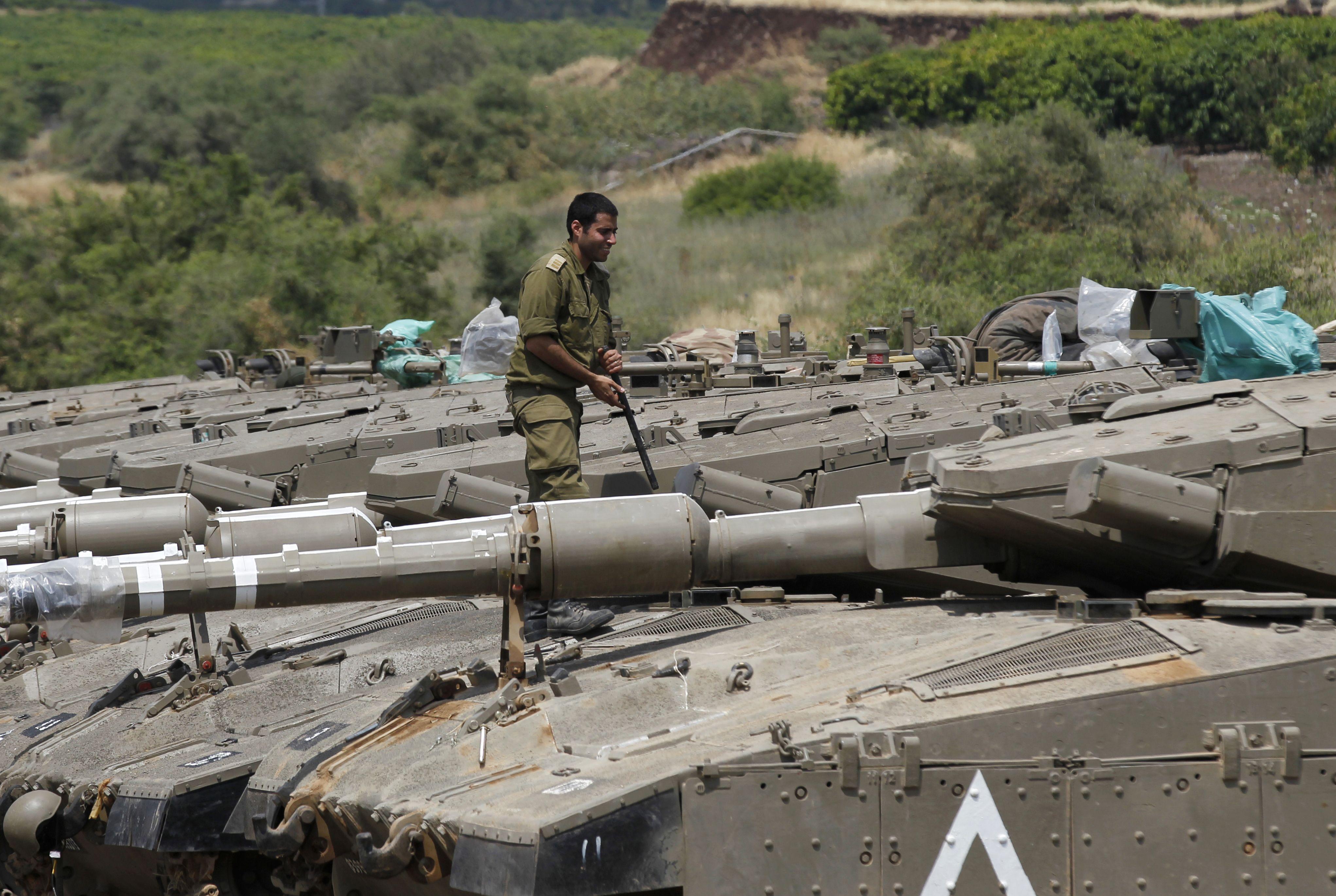 أحد جنود الاحتلال الاسرائيلى