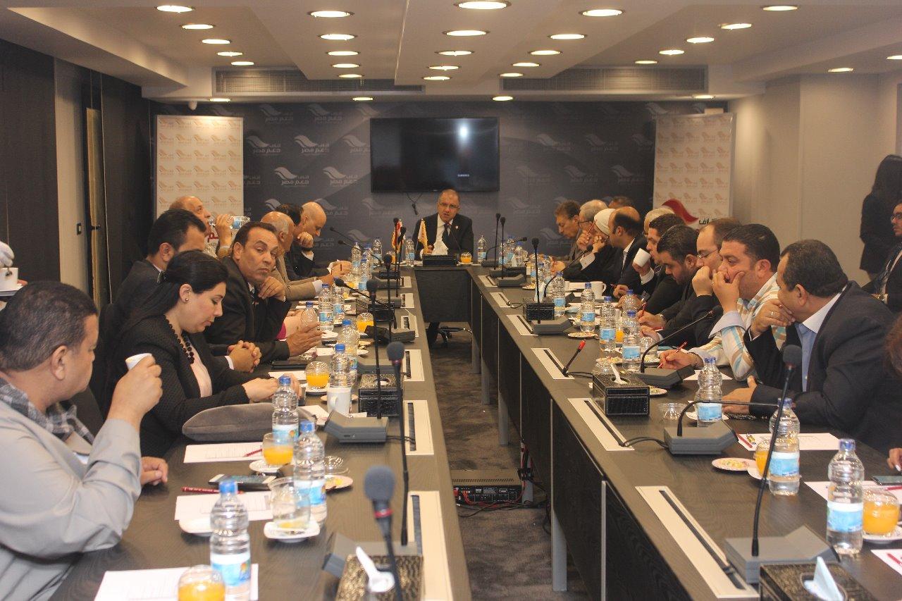 المكتب السياسي بائتلاف دعم مصر (1)