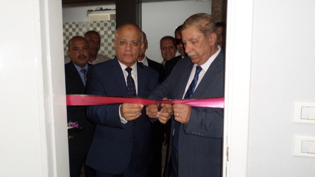 افتتاح التطوير التقنى بمجمع محاكم الاسماعيلية (4)