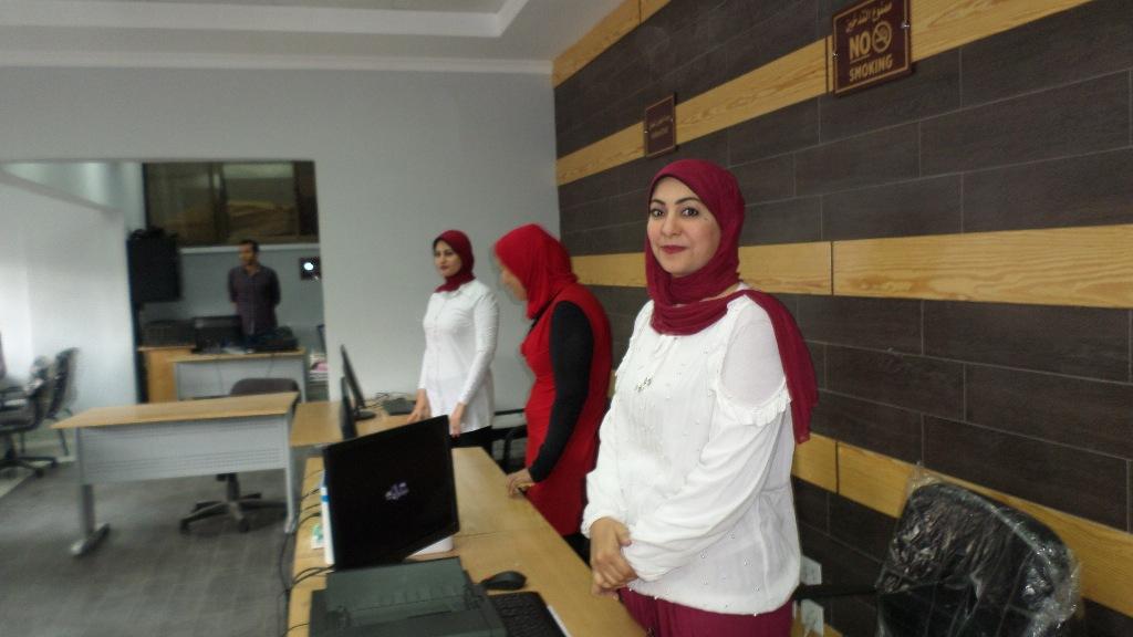 افتتاح التطوير التقنى بمجمع محاكم الاسماعيلية (9)