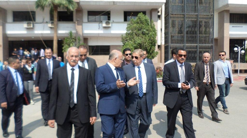افتتاح التطوير التقنى بمجمع محاكم الاسماعيلية (2)