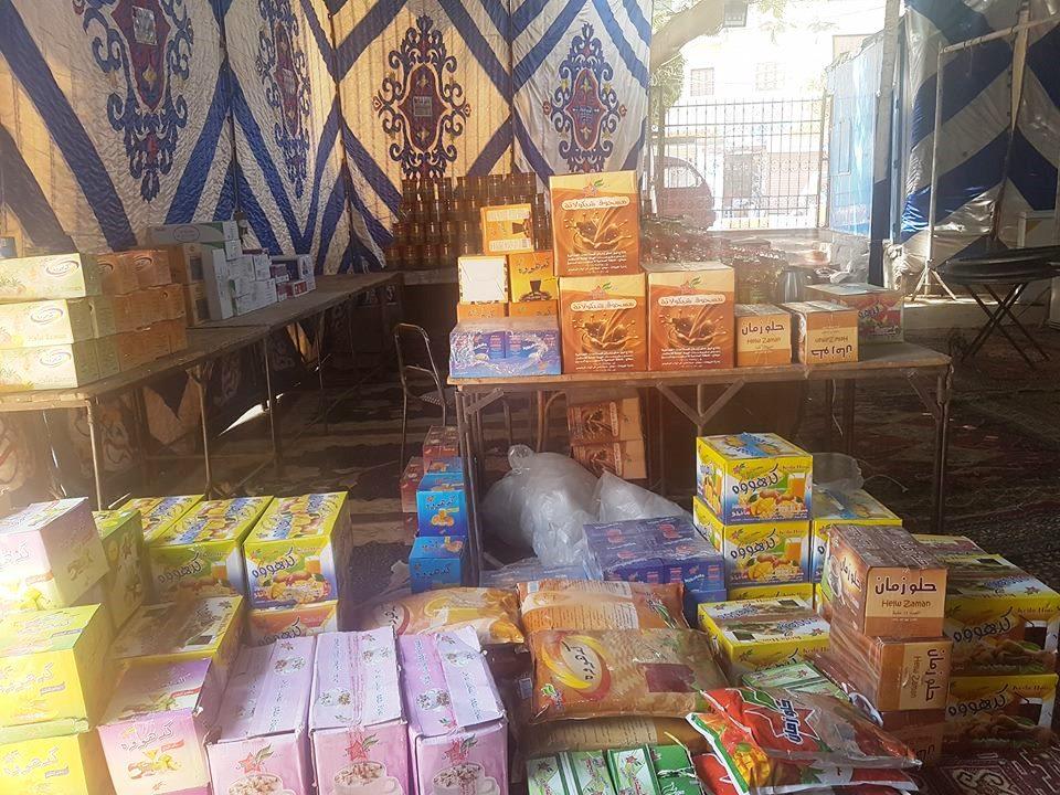 تجهيزات معرض اهلا رمضان بأخميم (2)