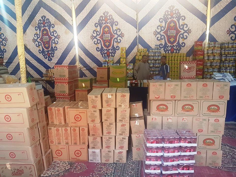 تجهيزات معرض اهلا رمضان بأخميم (5)