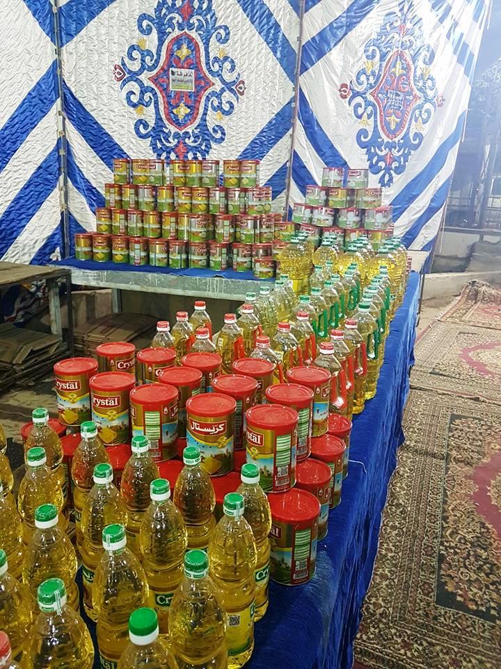 تجهيزات معرض اهلا رمضان بأخميم (3)