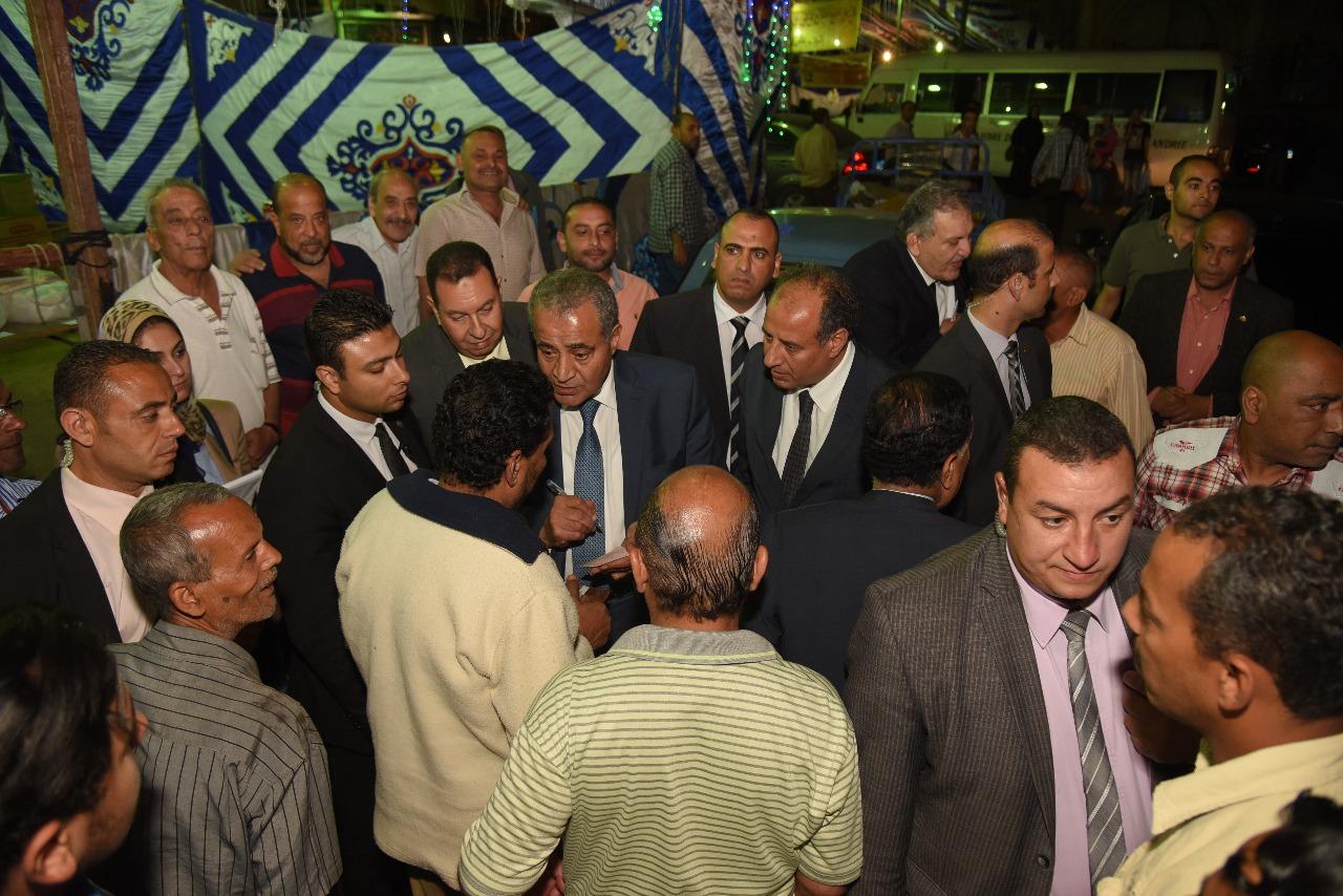 وزير التموين ومحافظ الإسكندرية (1)