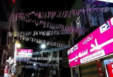 زينة رمضان تملأ شوارع الدقهلية  (3)