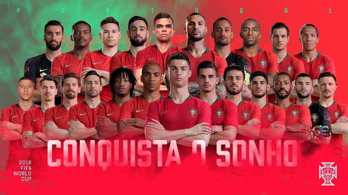 قائمة البرتغال