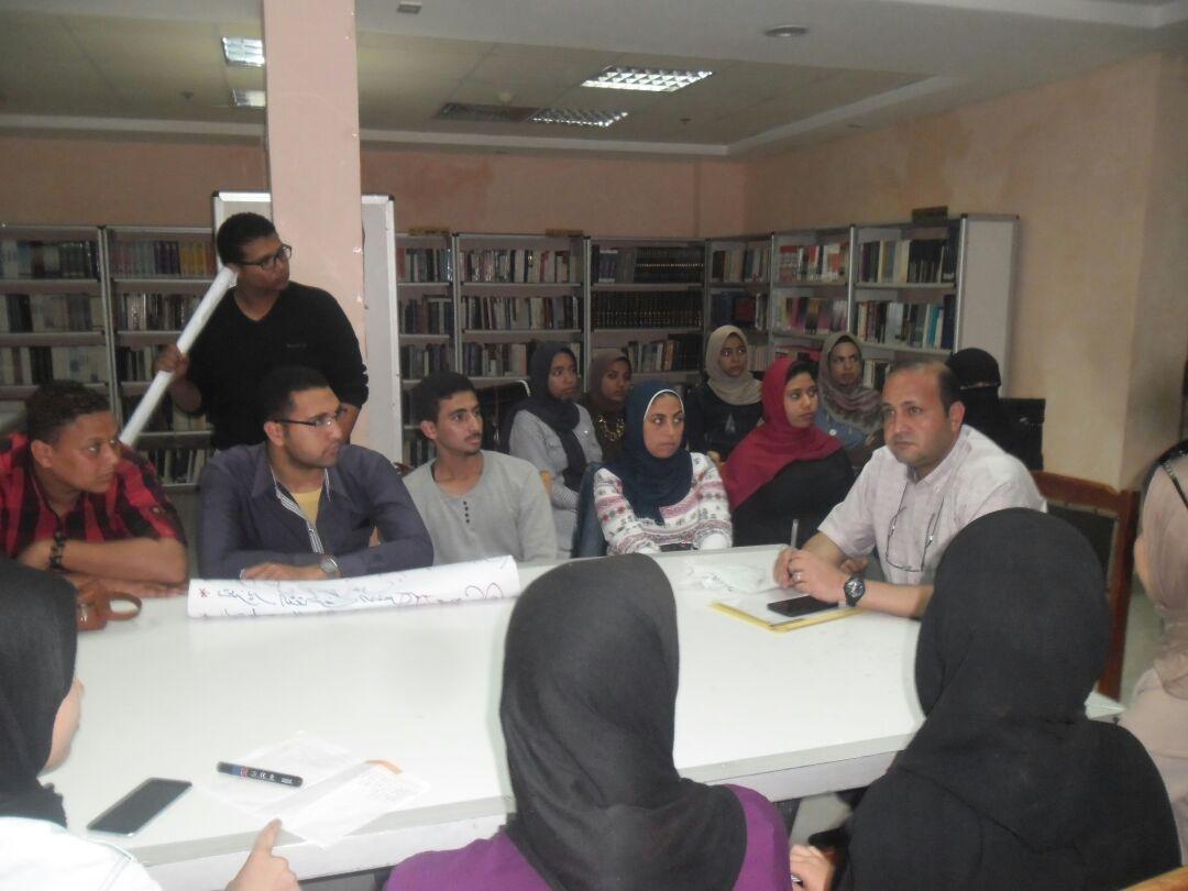 ورشة عمل حول الثقافة واحتياجات الشباب بمطروح  (1)