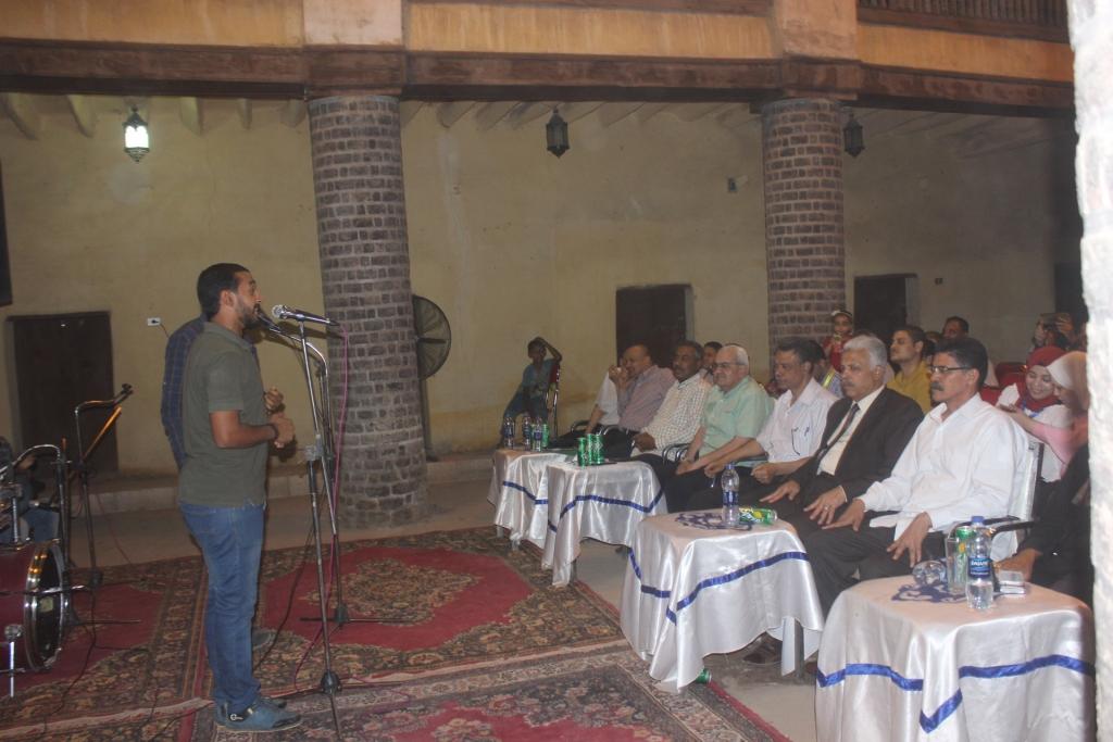 تنشيط السياحة بأسيوط تنظم أمسية وليلة رمضانية بوكالة شلبي الأثريةJPG (5)
