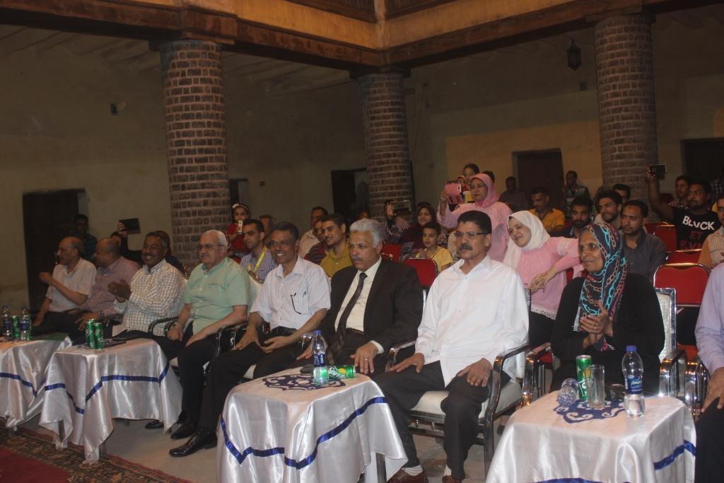 تنشيط السياحة بأسيوط تنظم أمسية وليلة رمضانية بوكالة شلبي الأثريةJPG (6)