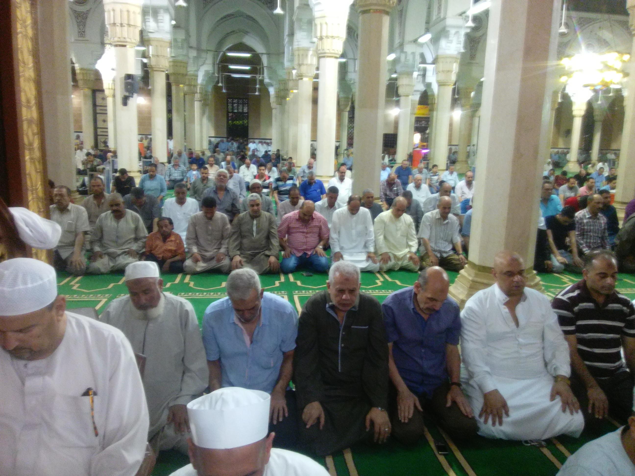 10- جانب من التواجد في المسجد
