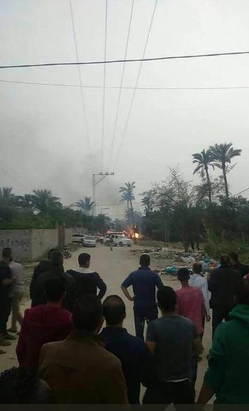 انفجار في غزة 2