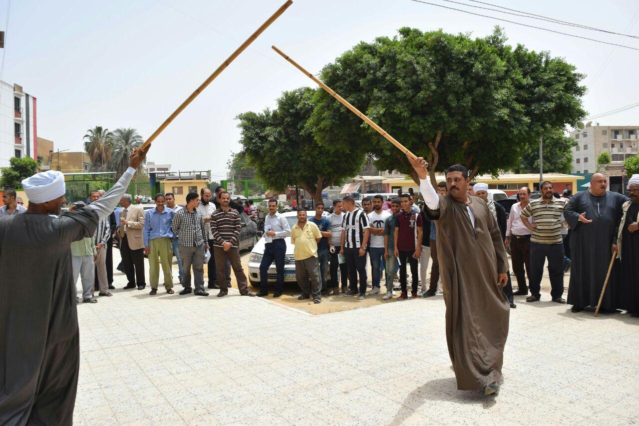 مهرجان الفنون البيئة بجامعة سوهاج (1)