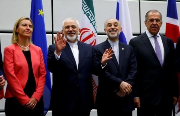 صورة بعد توقيع الاتفاق النووي