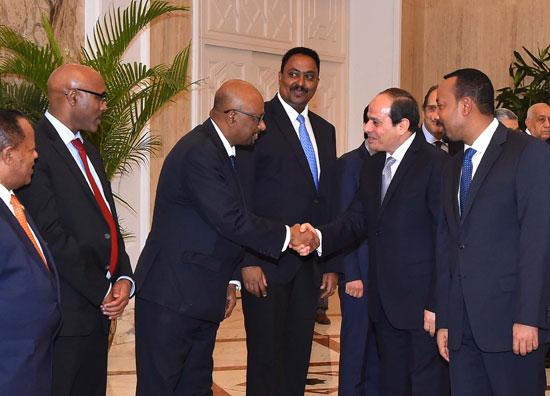 السيسي ورئيس وزراء إثيوبيا 2