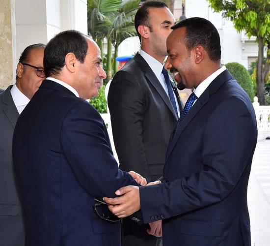 السيسي ورئيس وزراء إثيوبيا 1