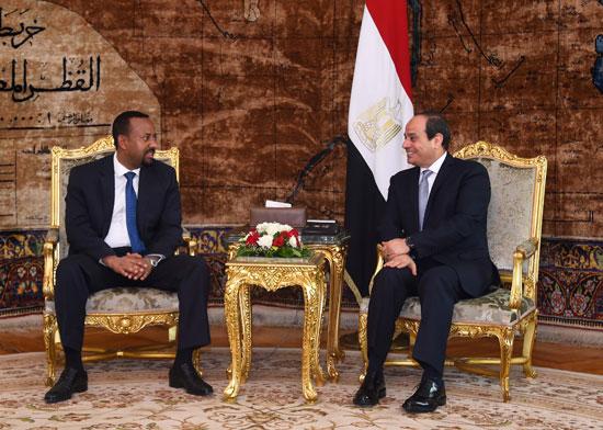 السيسي ورئيس وزراء إثيوبيا