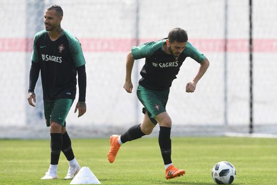 تدريبات منتخب البرتغال (9)