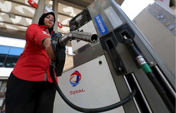 محطة وقود مصرية