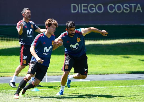 تدريبات منتخب اسبانيا (3)
