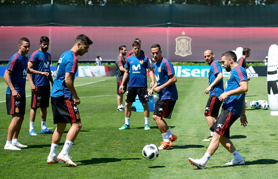تدريبات منتخب اسبانيا (1)