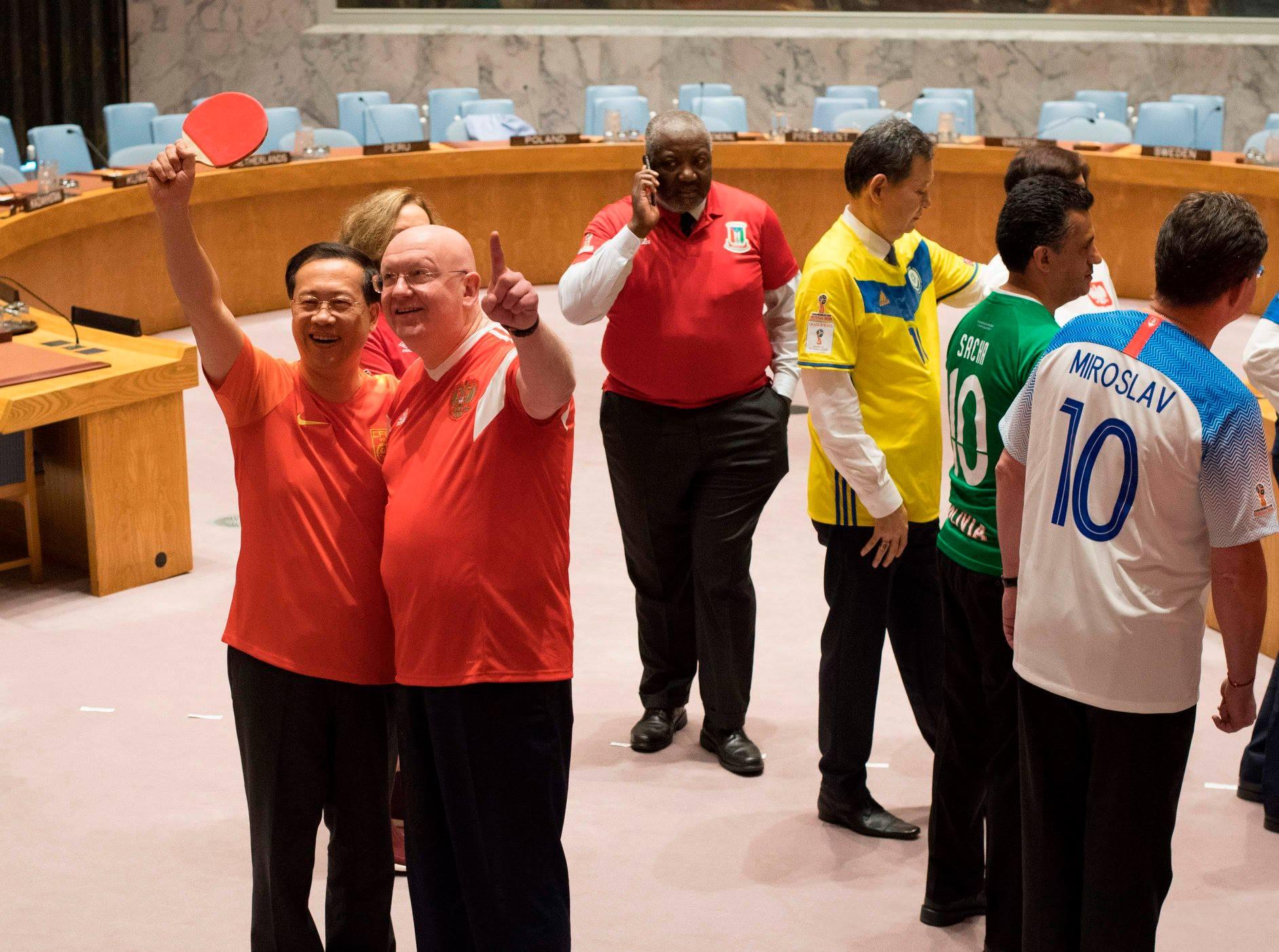 كأس العالم بالأمم المتحدة