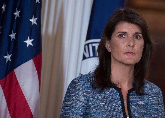 السفيرة الأمريكية في الأمم المتحدة