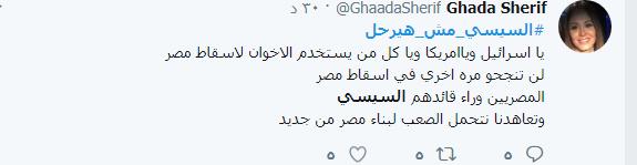 هاشتاج السيسي مش هيرحل.PNG 2