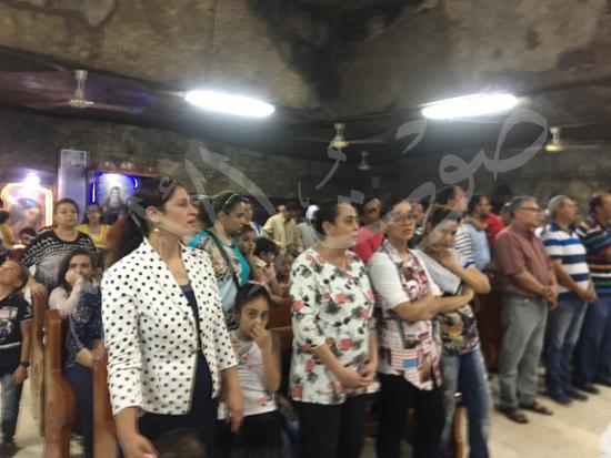 «حالة الحديد».. آلاف الأقباط يحتفلون بذكرى تحرير متياس الرسول (صور) (5)