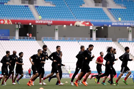 تدريب المنتخب المصرى (2)