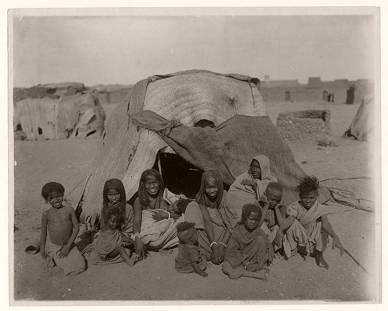 صورة لمصريين فى النوبة
