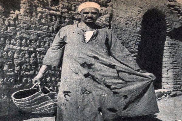 ملابس فلاح مصرى اوائل القرن العشرين