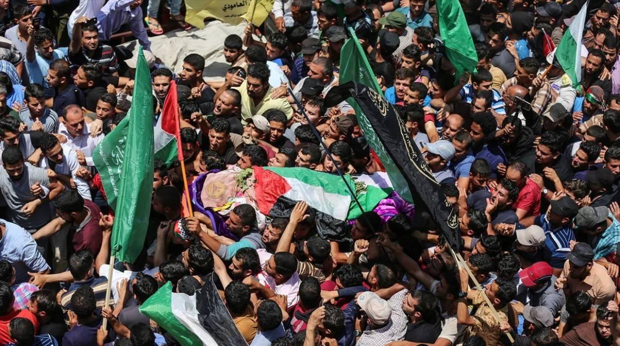 جنازة رزان النجار