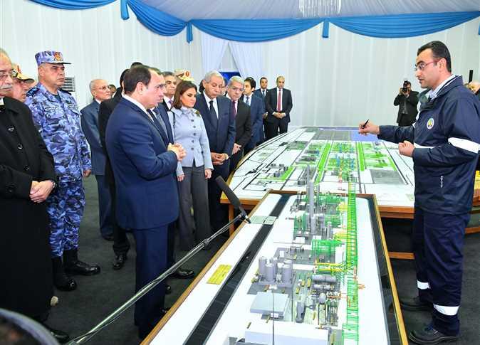 أفتتاح عدد من المشاريع القومية