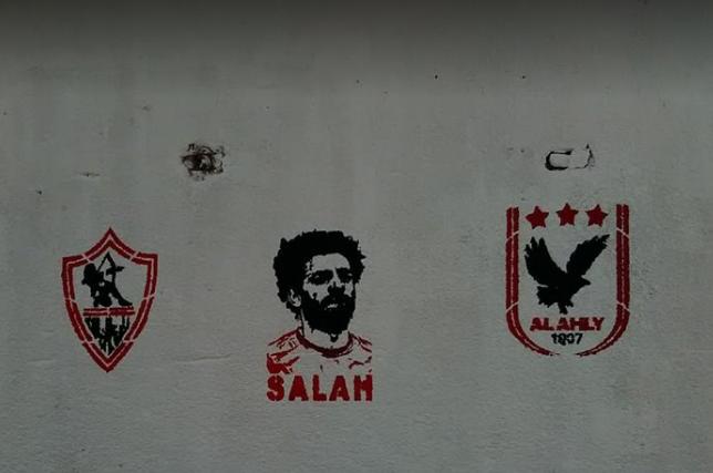 محمد صلاح يتوسط الأهلي والزمالك