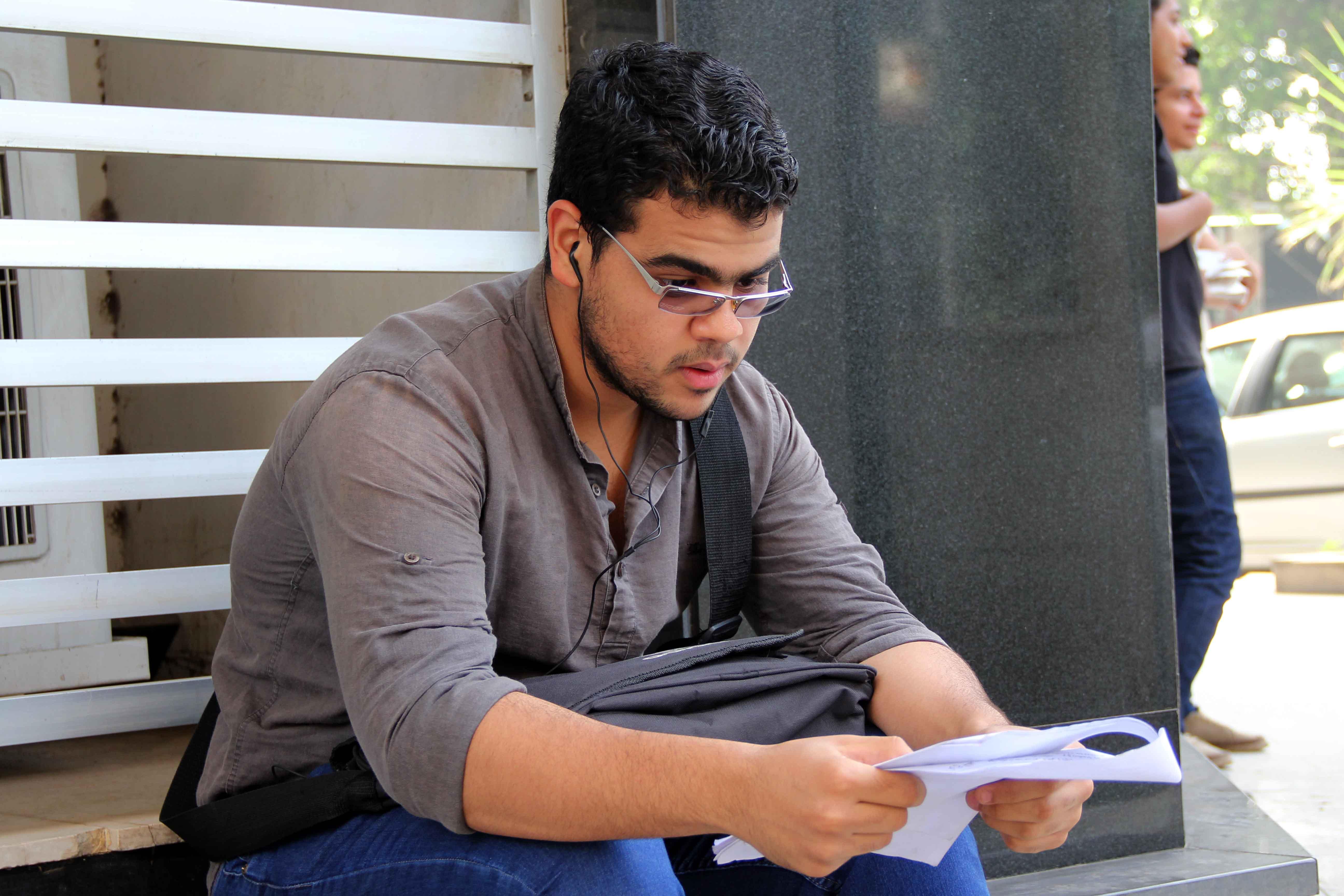 بدء امتحانات الثانويه العامه 8-6-2013 تصوير حسن محمد (6)