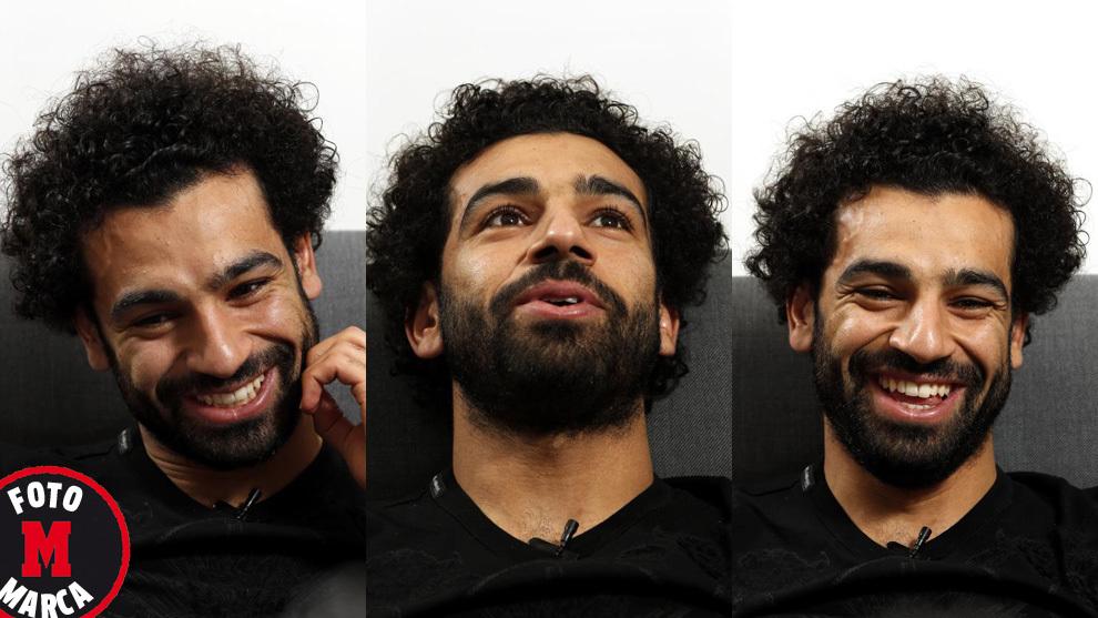 محمد صلاح خلال حوار مع صحيفة ماركا