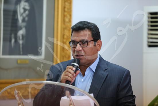 مؤتمر صحفى لكارتيرون المدير الفنى الجديد للأهلى (4)