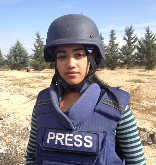 الصحفية-رفيدة-ياسين