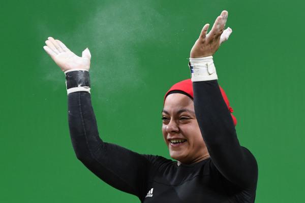 البطلة المصرية سارة سمير