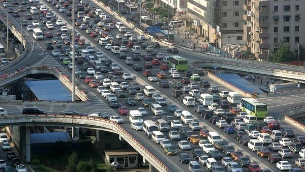 الزحام المرورى احد اكبر مشكلات مصر