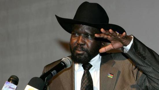 سيلفا كير ميارديت  رئيس جنوب السودان