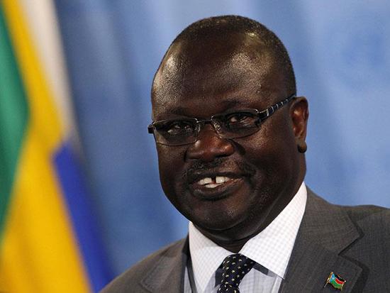رياك مشار نائب رئيس جنوب السودان السابق