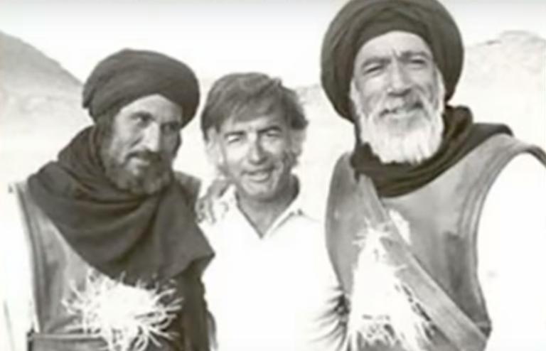أنتونى كوين ومصطفى العقاد وعبدالله غيث