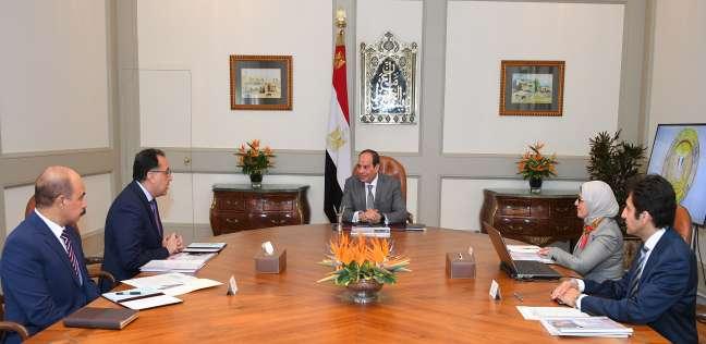 الرئيس ورئيس الوزراء ووزيرة الصحة