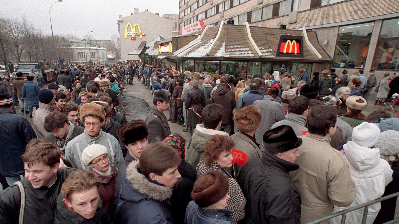 افتتاح ماكدونلدز